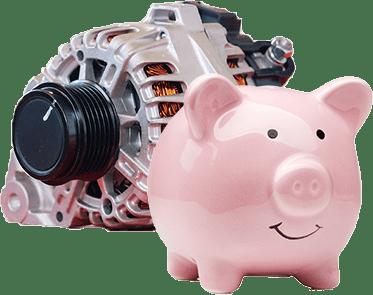 Part and piggy bank