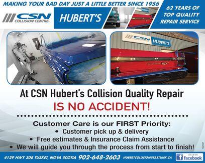 CSN Hubert's Collision