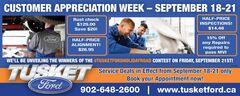 Customer Appreciation Service Deals