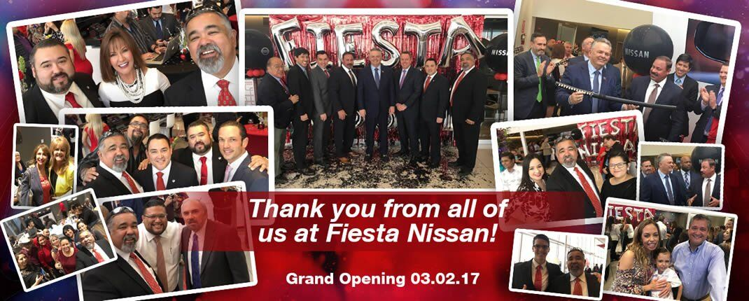 Fiesta Nissan Grand Opening