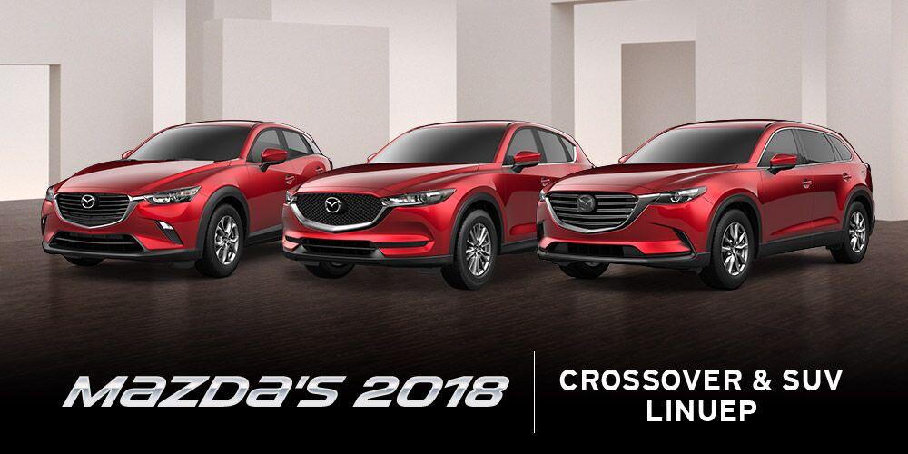 2018 Mazda CX-3, CX-5, & CX-9 at Bert Ogden Edinburg Mazda