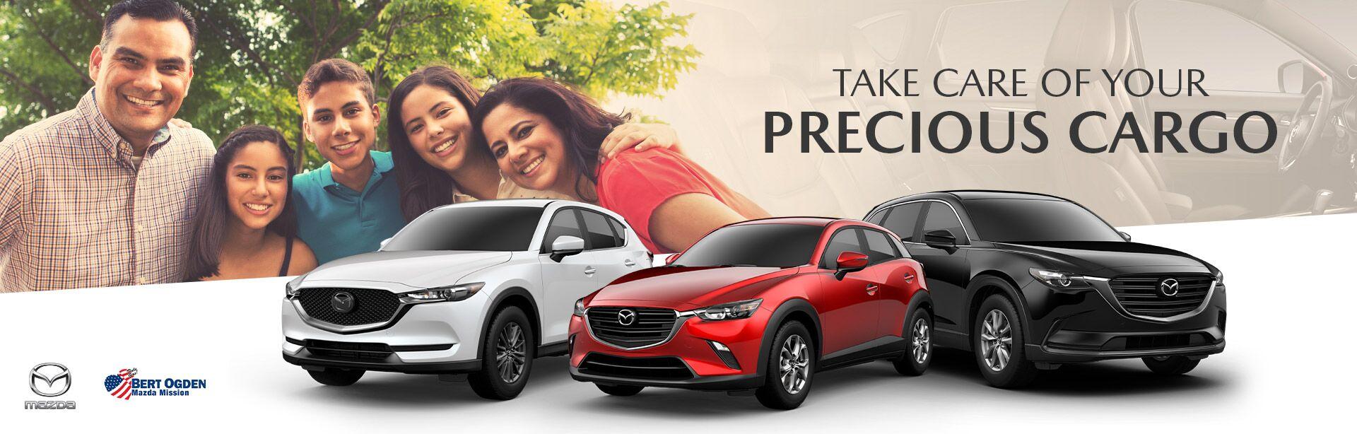 Mazda Vehicles For Large Families - Bert Ogden Mission Mazda - Mission, TX
