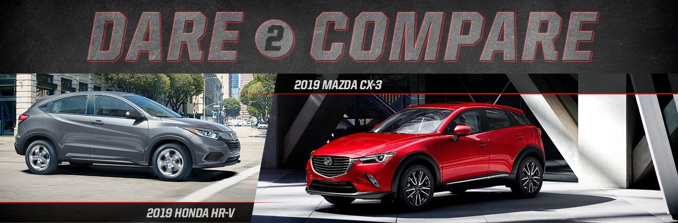 2019 Mazda CX-3 vs 2019 Honda HR-V - Bert Ogden Mission Mazda - Mission, TX