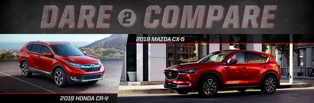 2019 Mazda CX-5 vs. 2019 Honda CR-V - Bert Ogden Mission Mazda - Mission, TX