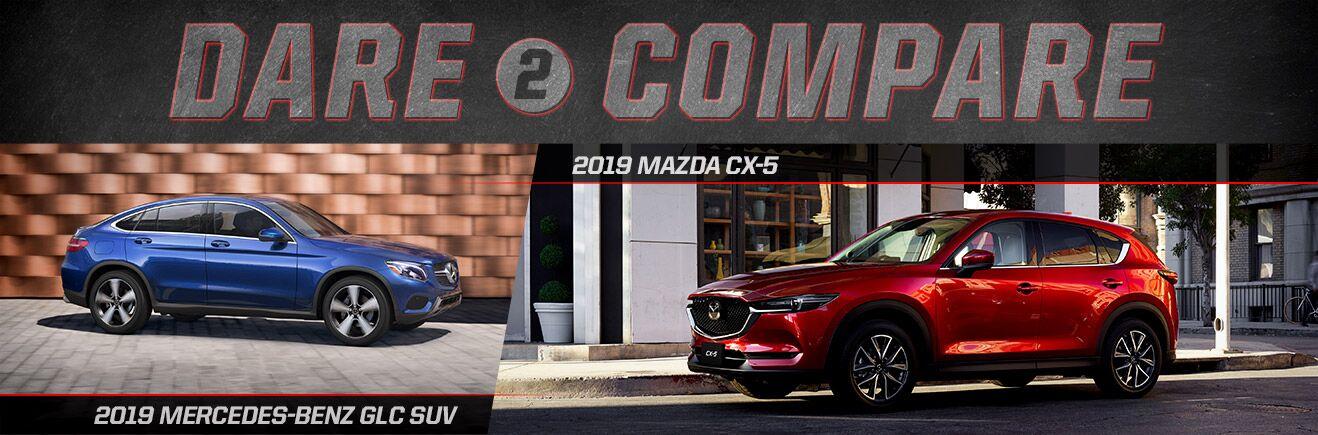 2019 Mazda CX-5 vs. 2019 Mercedes-Benz GLC SUV - Bert Ogden Mission Mazda - Mission, TX