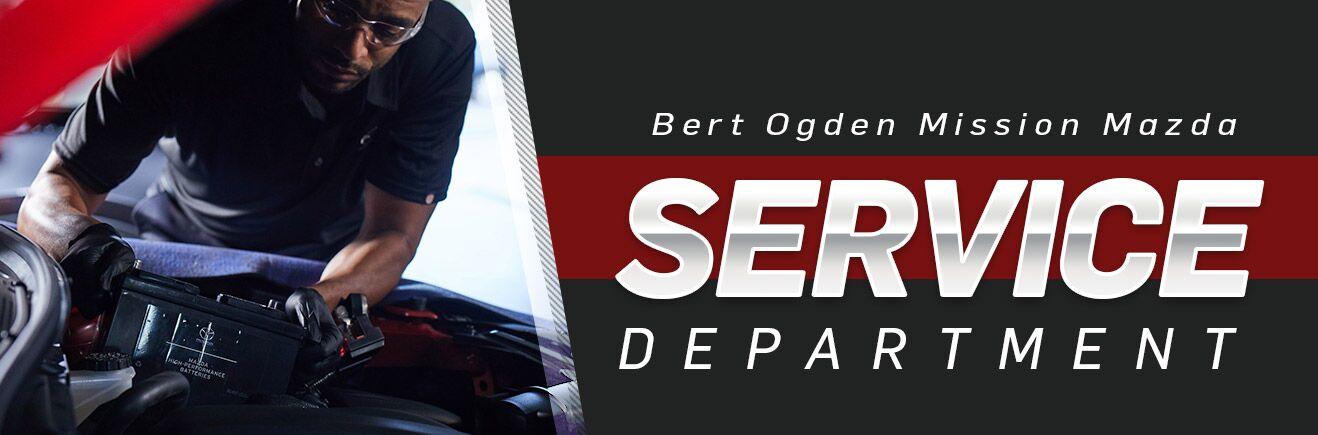 Service Department - Bert Ogden Mission Mazda - Mission, Mazda