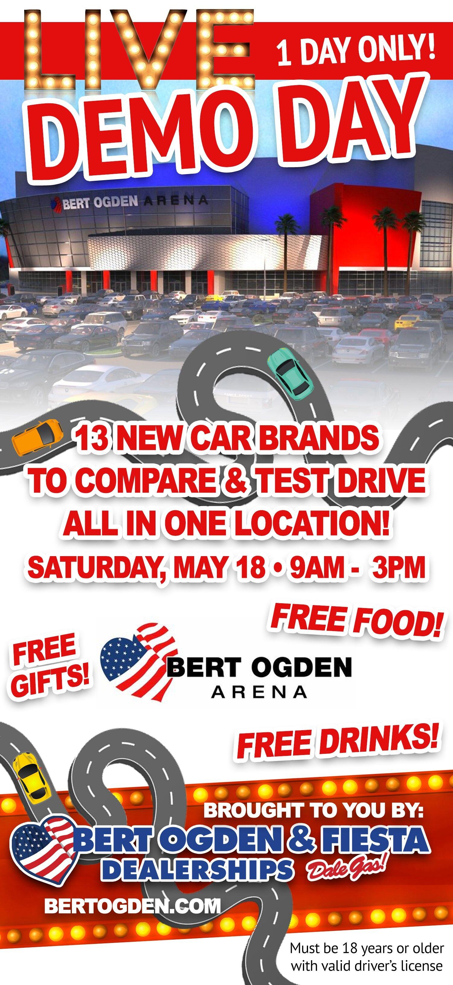 Demo Day - Bert Ogden Mission Mazda - Mazda, TX