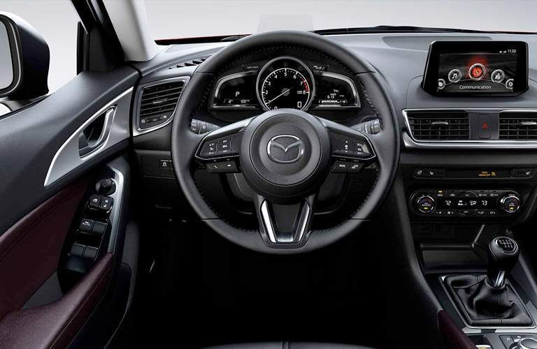 2017 Mazda3 5-Door driver's cockpit