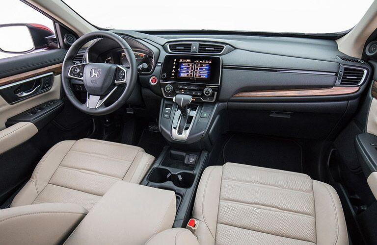 Interior view of 2019 Honda CR-V