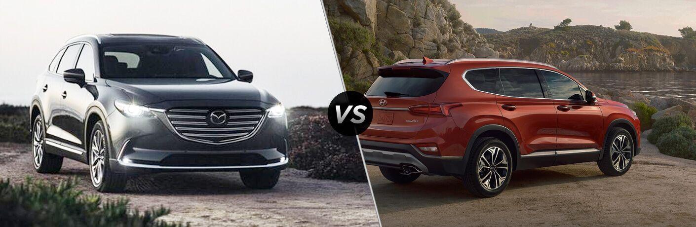 2020 Mazda CX-9 vs 2020 Hyundai Santa Fe