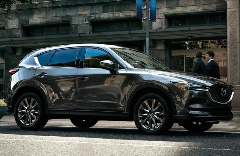 2020 Mazda CX-5 parked on the side of the street