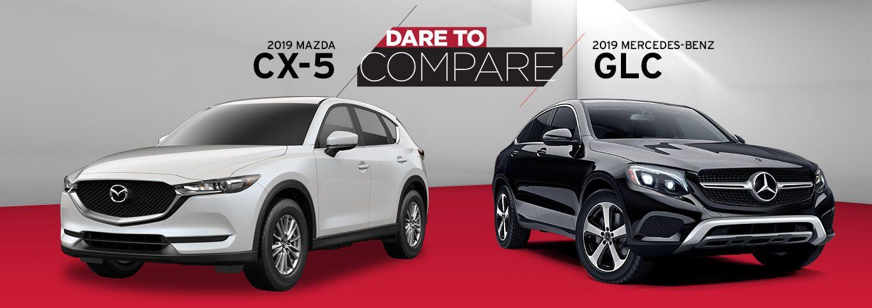 2019 Mazda CX-5 vs. 2019 Mercedes-Benz GLC SUV in Edinburg, TX