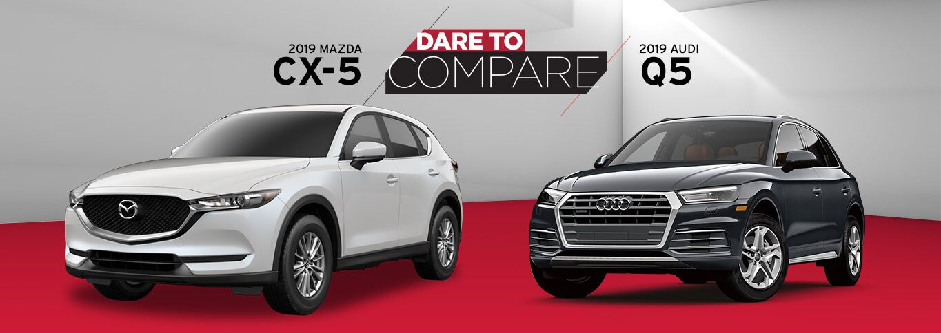 2019 Mazda CX-5 vs. 2019 Audi Q5 in Edinburg, TX