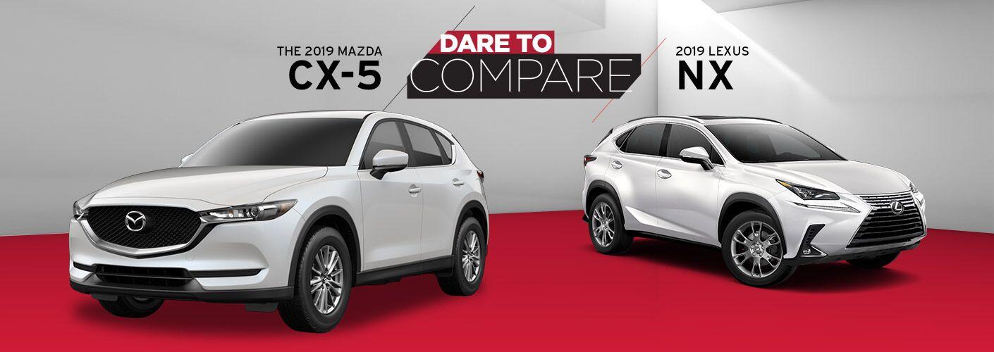 2019 Mazda CX-5 vs. 2019 Lexus NX in Edinburg, TX