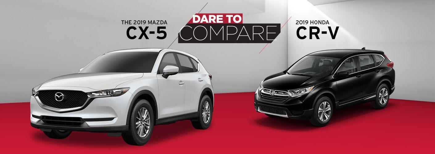 2019 Mazda CX-5 vs. 2019 Honda CR-V in Edinburg, TX