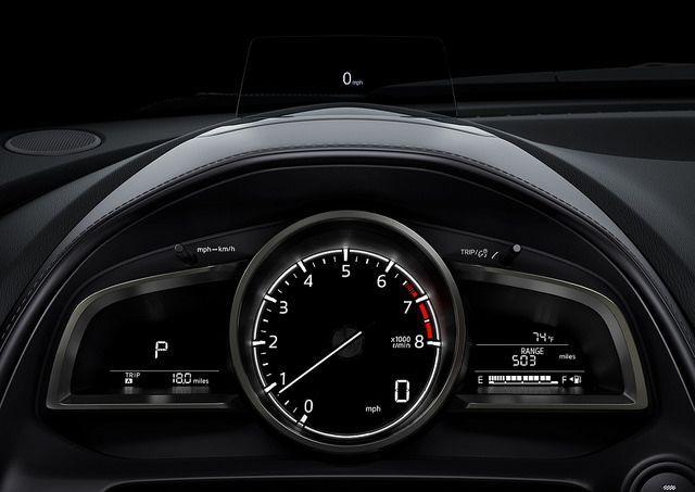 2018 Mazda CX-3 Driver Cluster