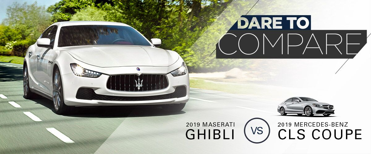 2019 Maserati Ghibli vs 2019 Mercedes-Benz CLS Coupe | Bert Ogden Maserati | Mission, TX