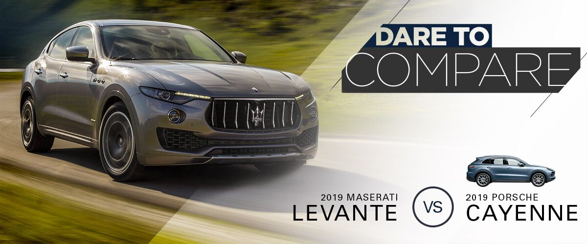 2019 Maserati Levante vs. 2019 Porsche Cayenne   Bert Ogden Maserati   Mission, TX