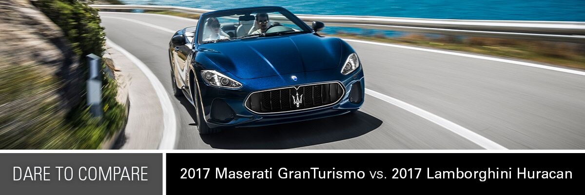 2017 Maserati GranTurismo vs. 2017 Lamborghini Huracan   Mission, TX
