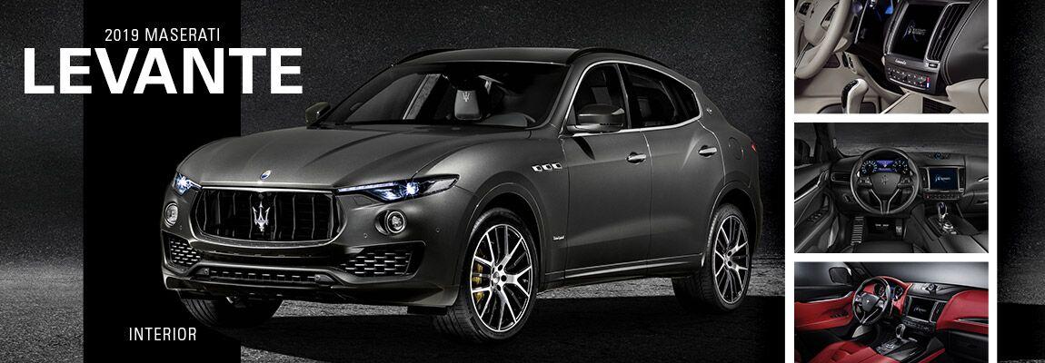 2019 Maserati Levante Interior | Mission, TX
