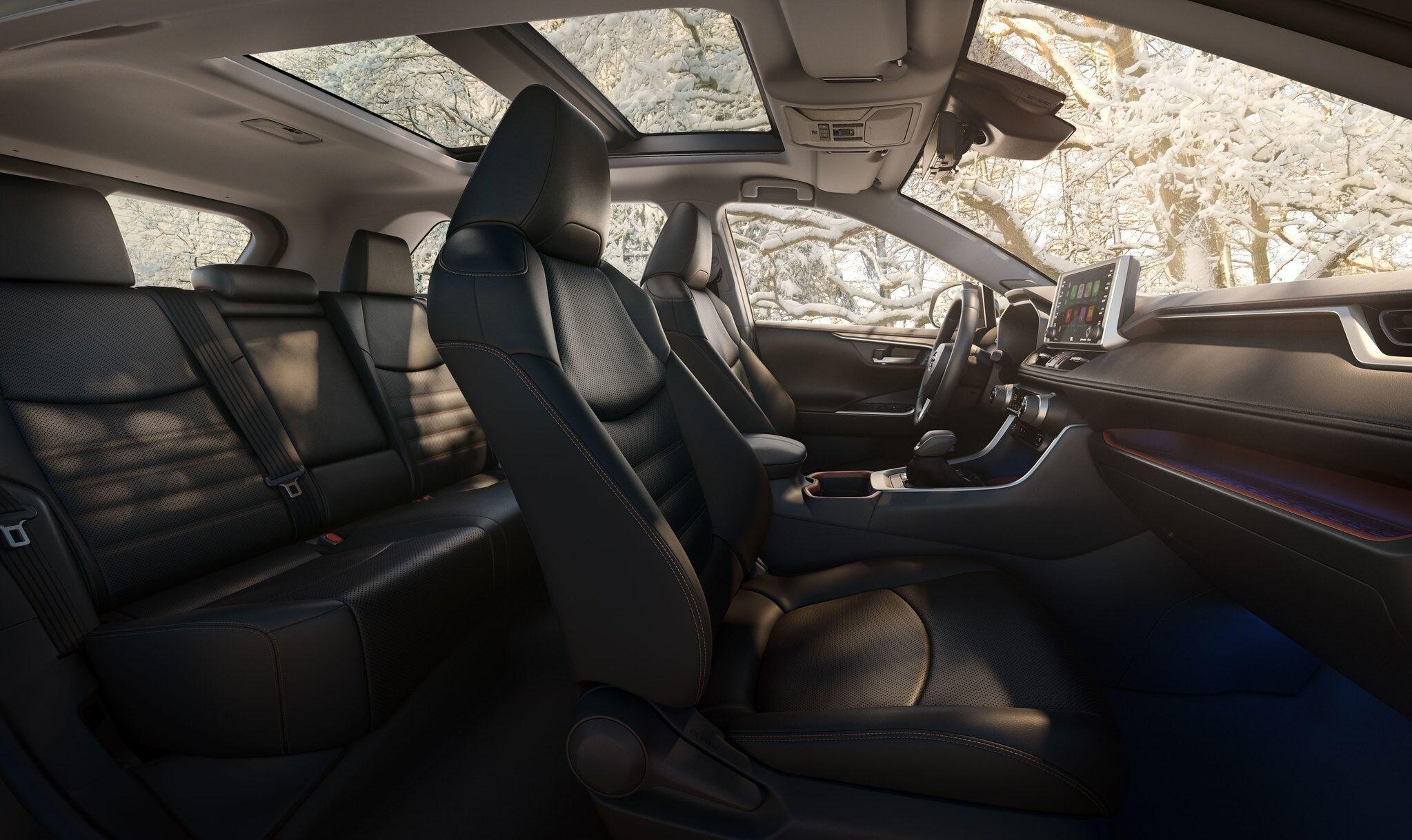 2019 Toyota RAV4 Interior | Harlingen, TX