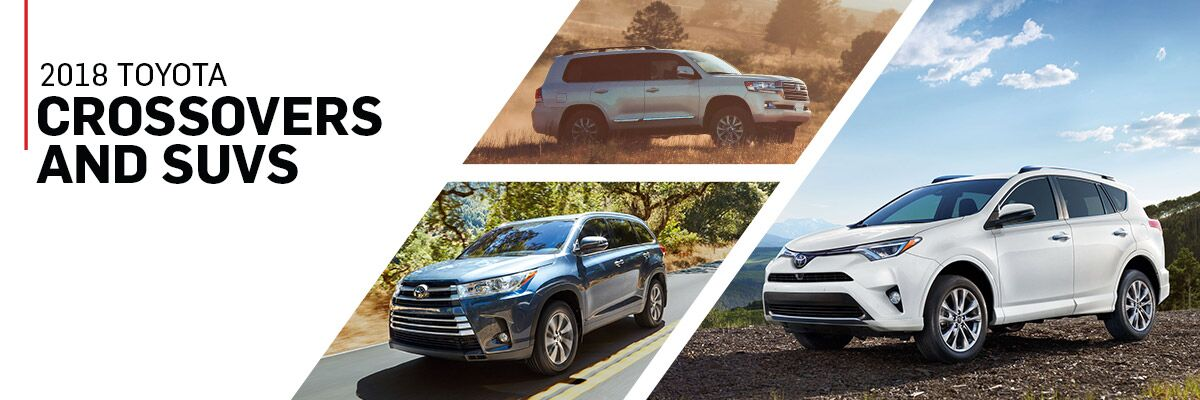2018 Toyota Crossovers and SUVs in Harlingen, TX