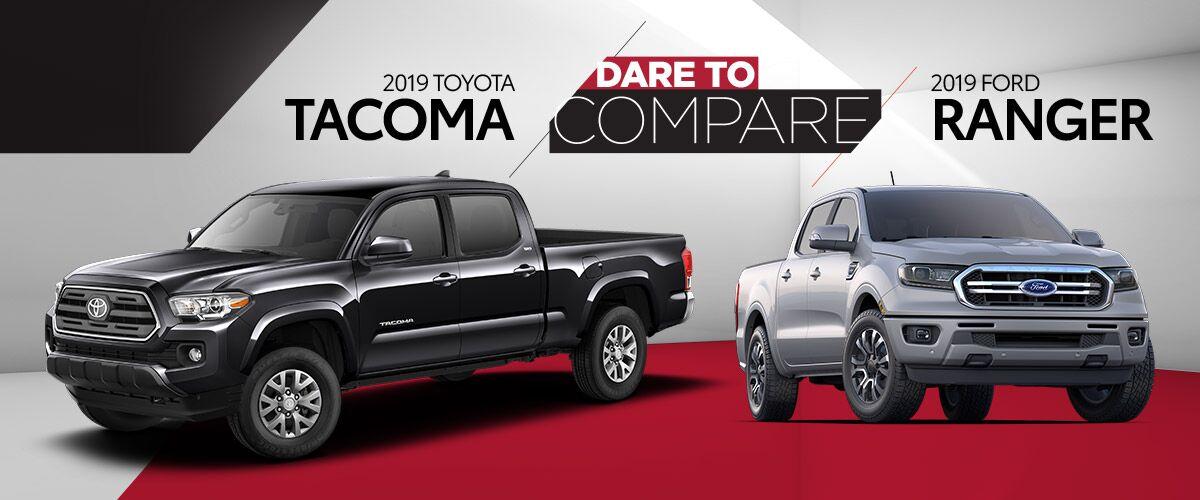 2019 Toyota Tacoma vs 2019 Ford Ranger | Harlingen, TX