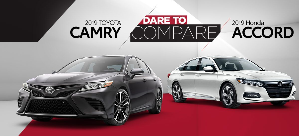 2019 Toyota Camry vs 2019 Honda Accord | Harlingen, TX