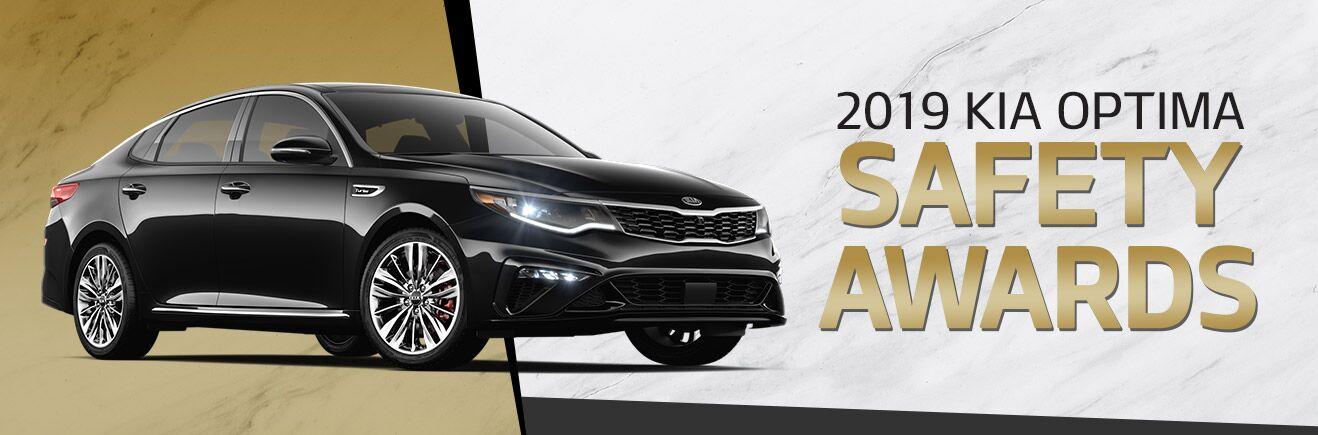 2019 Kia Optima Safety Awards - Bert Ogden Mission Kia - Mission, TX