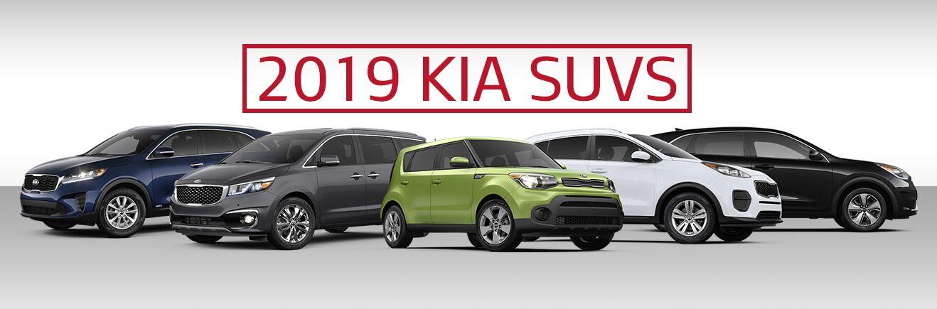 2019 Kia SUV Lineup - Bert Ogden Mission Kia - Mission, TX