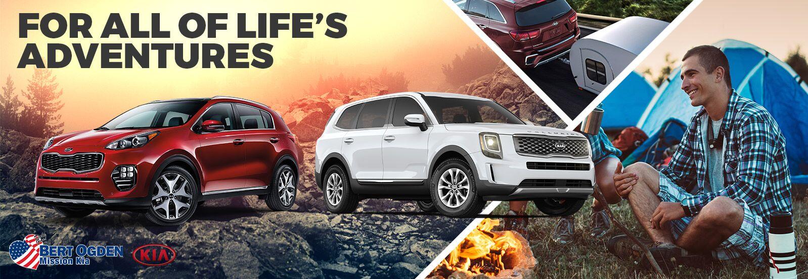 Kia Vehicles For Weekend Adventurers - Bert Ogden Mission Kia - Mission, TX