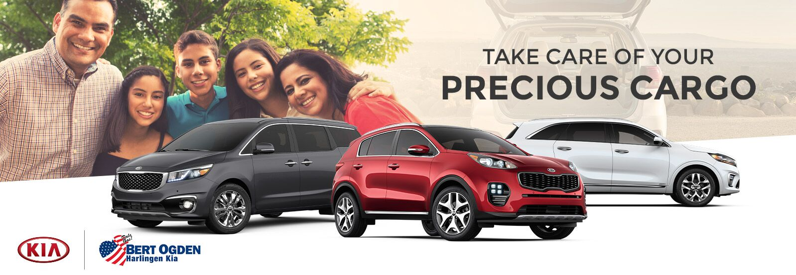 Vehicles for Families | Bert Ogden Harlingen Kia | Harlingen, TX