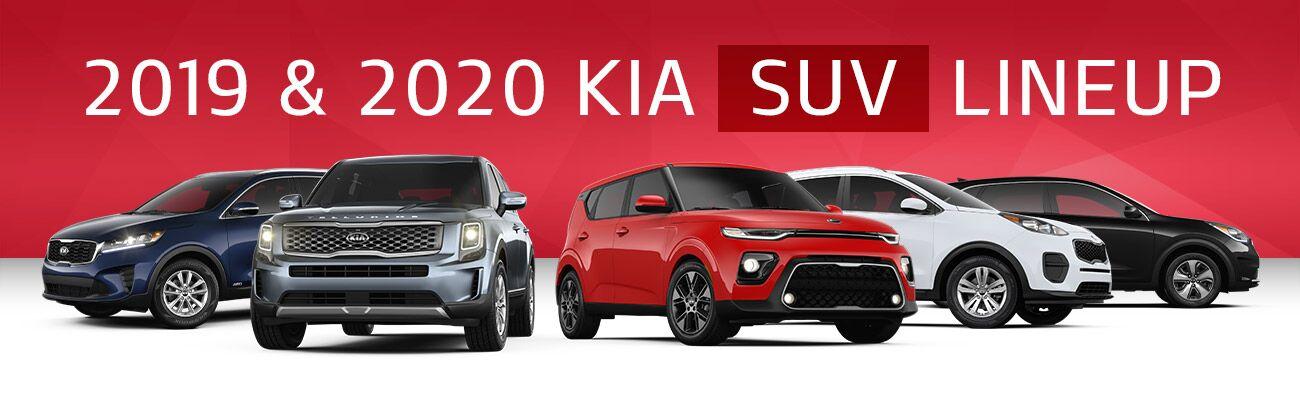 2019 & 2020 Kia SUV Lineup | Bert Ogden Kia | Harlingen, TX