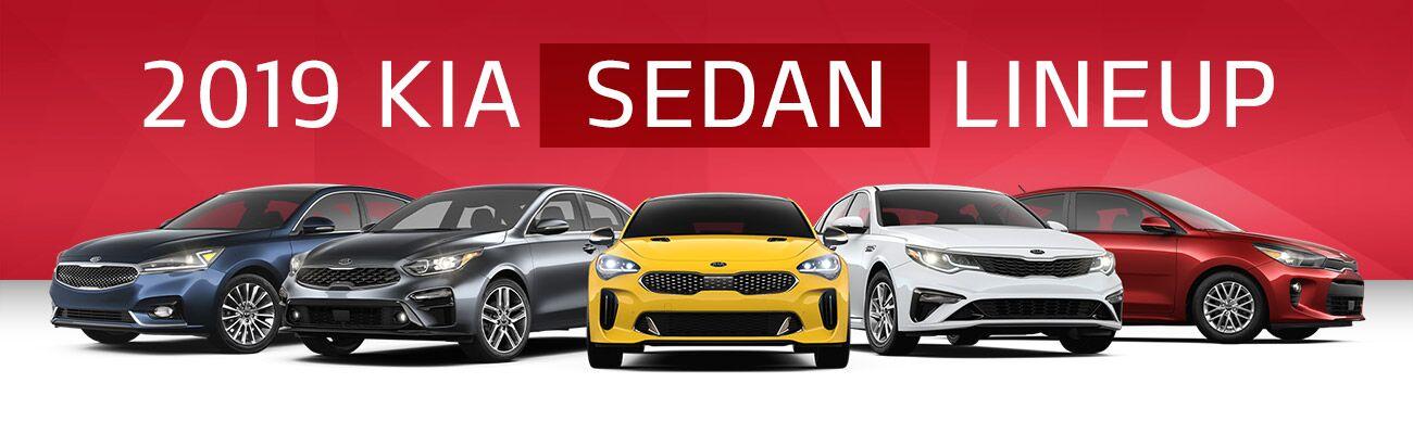 2019 Kia Sedan Lineup | Bert Ogden Harlingen Kia | Harlingen, TX