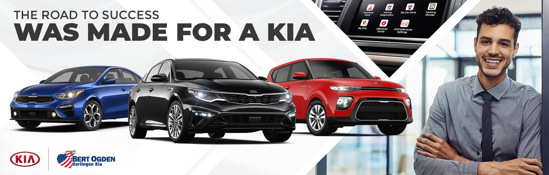 Vehicles for Self-Starters | Bert Ogden Harlingen Kia | Harlingen, TX