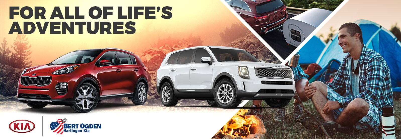 Vehicles for Weekend Adventurers | Bert Ogden Harlingen Kia | Harlingen, TX