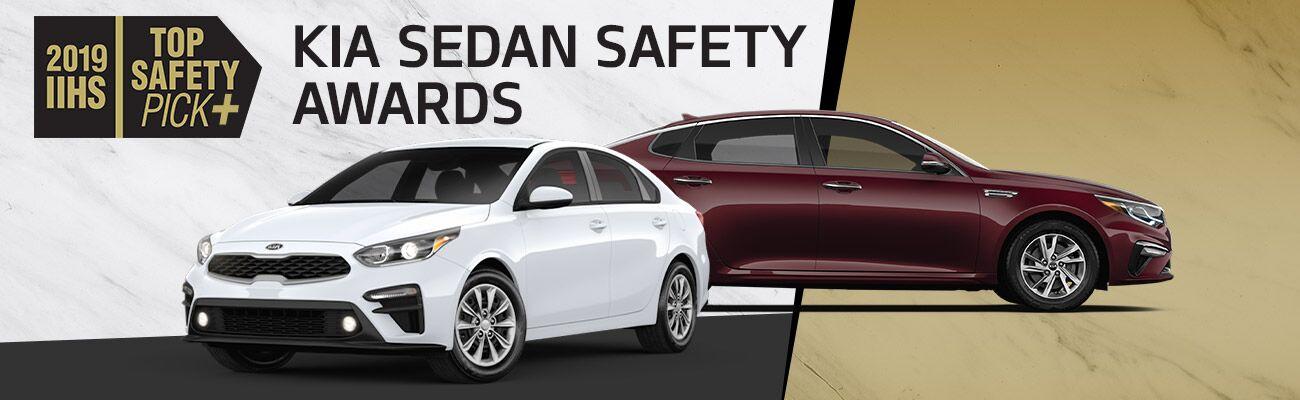 Kia Sedan Safety Awards | Forte and Optima | Harlingen, TX