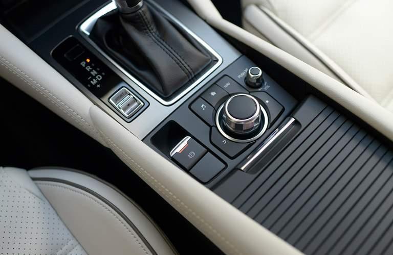 2017 Mazda6 center console