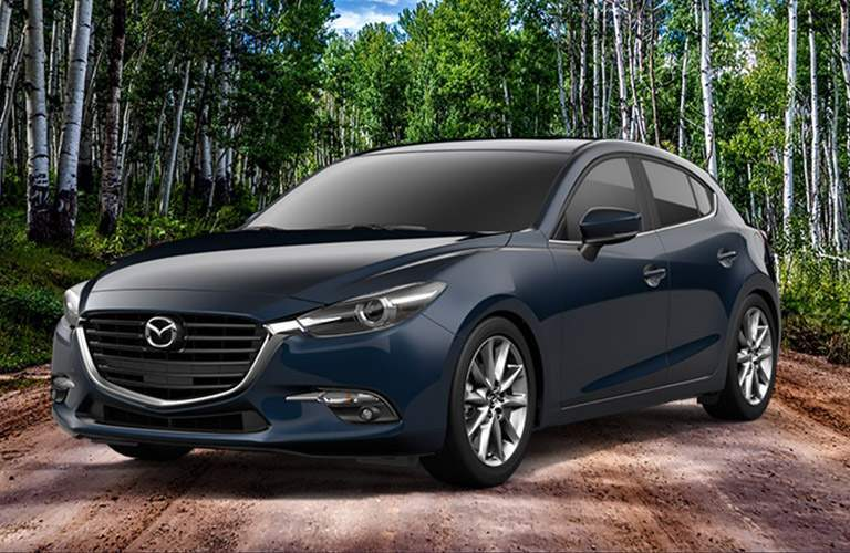 Mazda3 Hatchback front and side profile