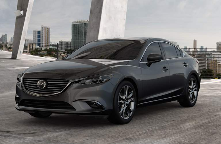 Mazda6 front and side profile