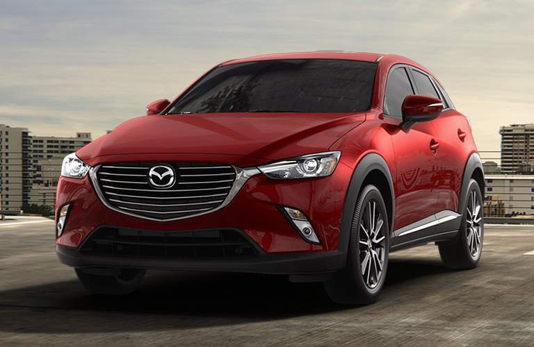 Mazda CX-3 front profile