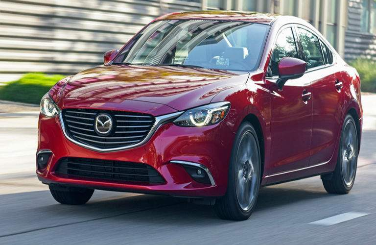 2017 Mazda6 grille and badging