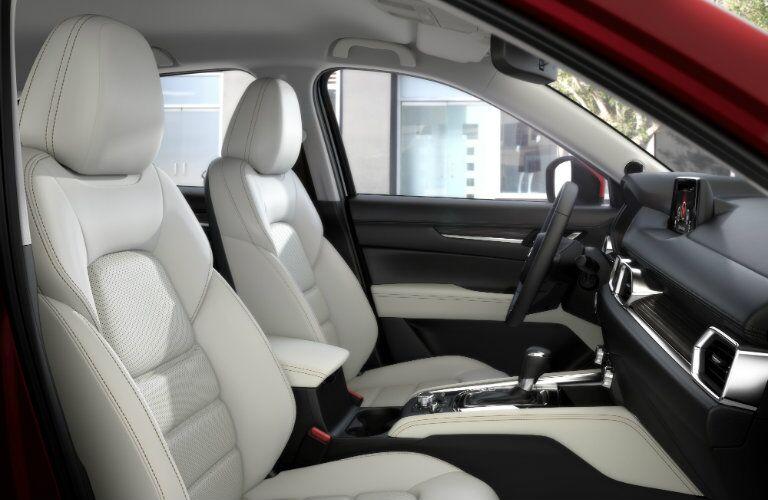 Front interior of the 2017 Mazda CX-5