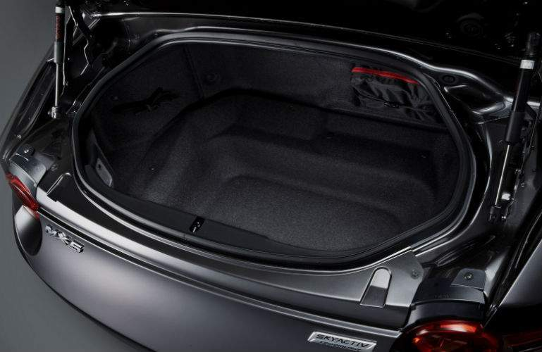 2017 Mazda MX-5 Miata RF cargo space