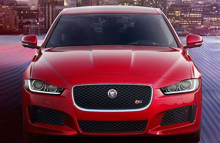 2018 Jaguar XE exterior front fascia