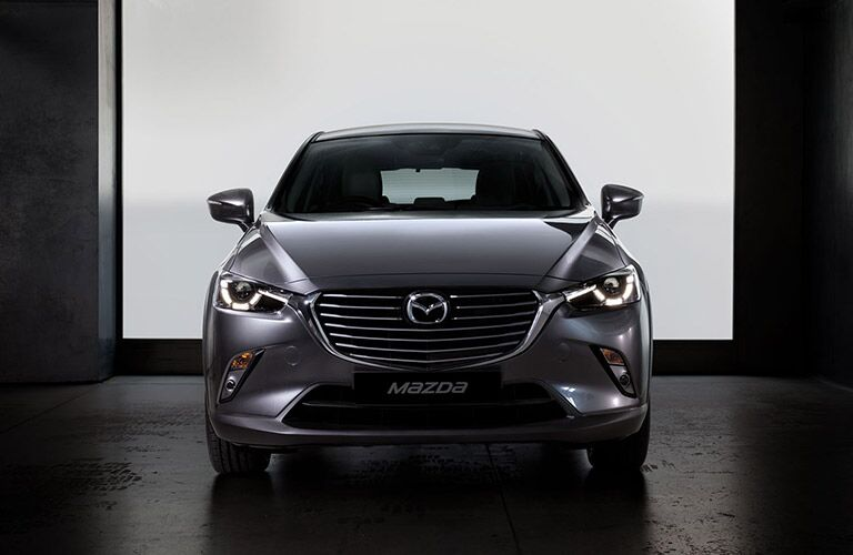 2018 Mazda CX-3 front fascia in empty gray room