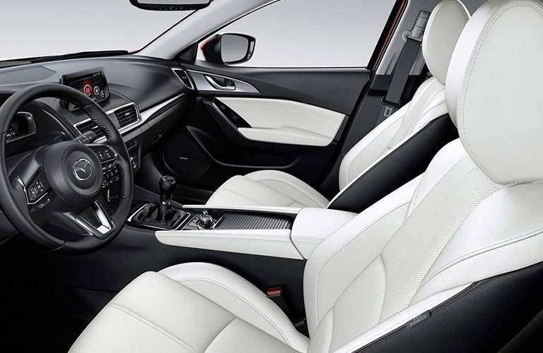 2018 Mazda3 5-Door front interior