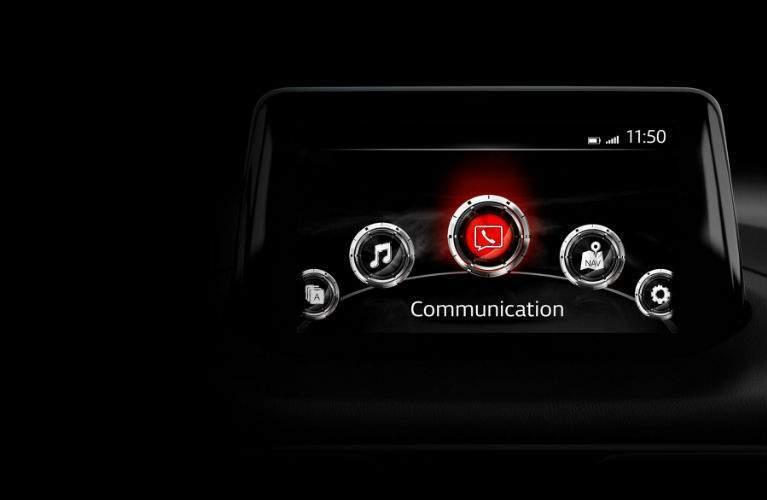 2018 Mazda3 5-Door Mazda Connect infotainment system