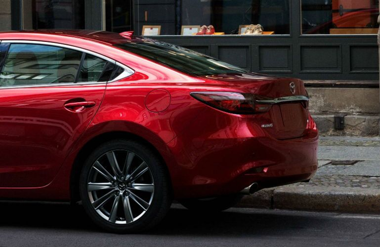 2018 Mazda6 driver's side rear end