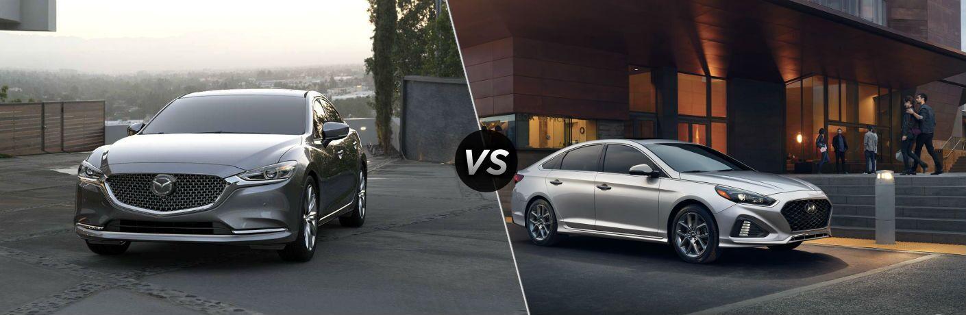 2018 Mazda6 vs 2018 Hyundai Sonata | Vic Bailey Mazda